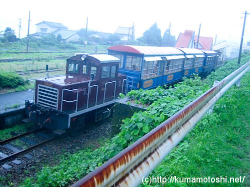 レトロ観光列車「あそ1962」の写真10