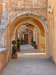 Agia Triada Monastery, Crete, Greece (namq) Tags: greece crete agiatriadamonastery