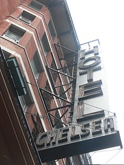Chelsea Hotel by Fearless Tall Dude Killer, on Flickr