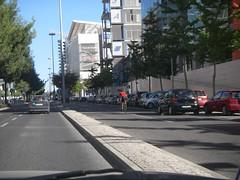 Ciclista de licra que não respeita os semáforos