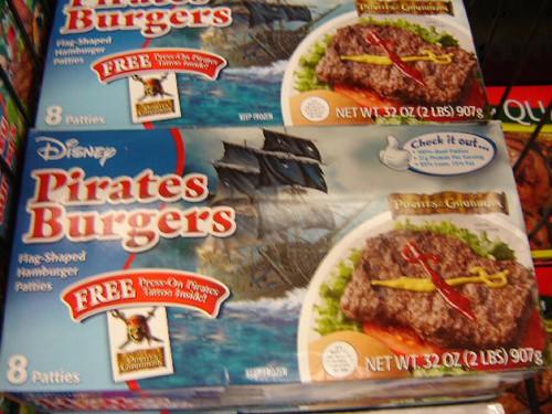 Pirate burgers.