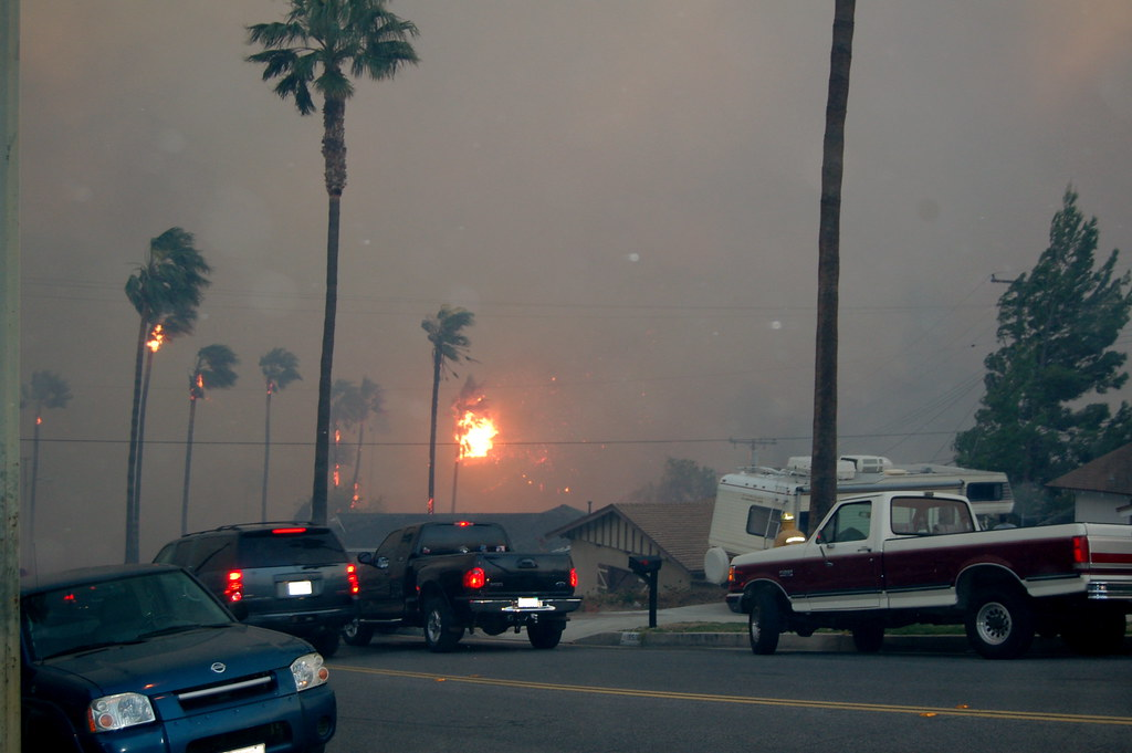 Southern California on fire
