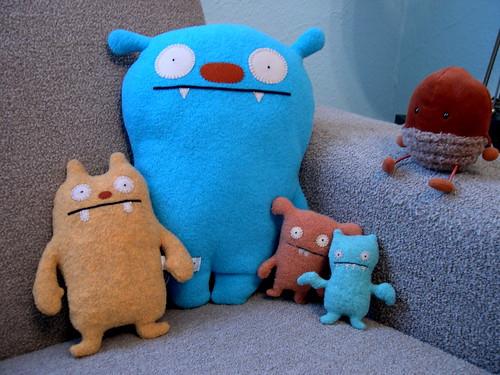 Ugly Dolls by bigheadedrobot.