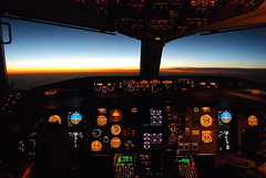 Sunset at Flight Level 380 (HawkeyePilot (limited Flickr time)) Tags: delta iso1600 b757 flickrsbest dsc2635 diamondclassphotographer flickrdiamond flight85 jfkslc