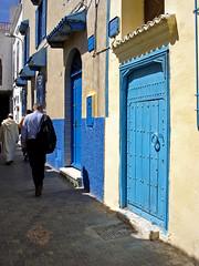 Blue doors of Tanger (mhobl) Tags: door blue doors morocco maroc blau tangier marokko tanger türen marokko2005 bestofblue