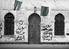 An old italian house in the italian district, Benghazi, Libya (Eric Lafforgue) Tags: africa door house window graffiti italia northafrica hasselblad libya benghazi libia libye libyen ghadafi h3d  lbia 14699 lafforgue italiancolony jamahiriya libi libiya  ribia liviya khadafi libija       lbija  lby  libja lbya liiba livi