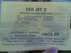 Sea Jet 2.03-Ticket