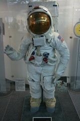 Apollo Astronaut Suit (boisy17) Tags: new england museum airport antique space aviation air jets wwi wwii astronaut suit international collections bradley planes helicopters bombs apollo missiles restorations