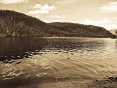 Lzbrci-vztrol (Roland_78) Tags: lake sepia landscape hungary bkk magyarorszg tjkp kodakdx6490 borsodmegye lzbrc ddestapolcsny