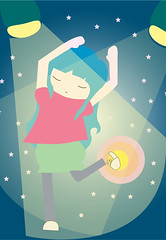 dancing with the stars (alterna ) Tags: chile santiago dancing otros natalia boba nati dibujos diseo gusto mente ilustracion ilustraciones diverso caceres alterna alternativa cuaquiera superboba alternaboba