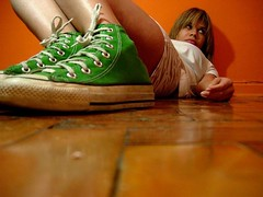 all star (madalena.leles) Tags: selfportrait verde green star shoes all floor autoretrato converse tenis cho chucks sapato madalena leles over2000views madalenaleles