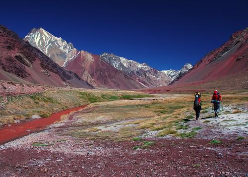 Trekking in Aconcagua