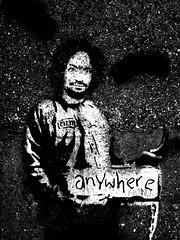 Anywhere (thetrapezium) Tags: london station graffiti camden banksy charles olympus line archway dslr northen prisoner manson anywhere evolt olympusdslr e410