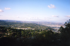 View of El Cajon from Mt Helix