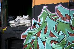 5 Pointz - Hunters Point - LIC (liqcity) Tags: nyc newyorkcity streetart newyork graffiti newspapers queens lic longislandcity 5pointz jacksonave jacksonav liqcity