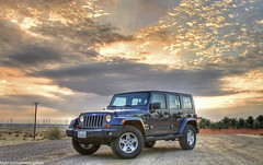 Jeep Wrangler Sunset Clouds (HDR) (Mishari Al-Reshaid Photography) Tags: sunset sky cars clouds canon eos automobile jeep 4x4 american autos sunrays suv digitalrebel 2008 canoneos hdr sunsetclouds q8 carphotos carphotography wrangler artphoto coolcars jeepwrangler gtm coolshots carphoto imagestabilizer 24105mm vwc 10faves q80 xti ef24105 mishari canoneos400d digitalrebelxti canon400d aplusphoto kuwaitphoto kuwaitphotos kuwaitcars kvwc gtmq8 kuwaitvoluntaryworkcenter kuwaitvwc grendizer99 hyperdynamicrange kuwaitphotography grendizer99photos carsunsets wranglerhdr jeepwranglerhdr 4x4hdr jeephdr iputaplusphotobeforedoctony misharialreshaid malreshaid misharyalrasheed