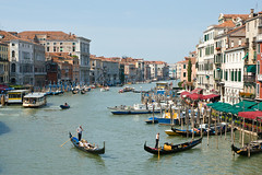 View from Ponte di Rialto