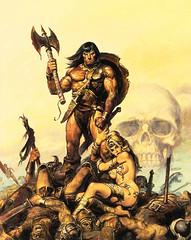 Ilustración de Conan