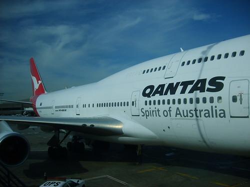Qantas 747-400 ER