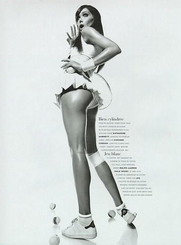 Carla Bruni sebagai supermodel by cyber9l