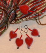 Fall in Love Stitch Markers