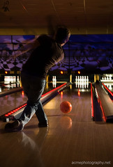 Bowling - It's how we Roll - Strobist Style Photography in Phoenix AZ (ACME-Nollmeyer) Tags: friends music sports ball fun photographer action event bbc bowling cosmic rolling onelight ymc strobist freshgrounds acmephotographynet