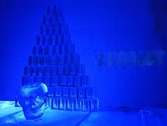 IMG_2886 (gezzajax) Tags: blue snow cold art ice water architecture reindeer design bed sweden freezing arctic e freeze lapland northern dogsledding kiruna icehotel arcticcircle jukkasjrvi snowmobil torne reindeerskin rivertorne