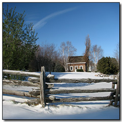 Log Cabin (Lisa-S) Tags: blue winter panorama white house snow ontario canada building tree canon fence log cabin lisas logcabin allrightsreserved caledon blueribbonwinner 7083 7084 s3is canons3is mywinners mywinner platinumphoto anawesomeshot excellentphotographerawards vertorama goldstaraward copyrightlisastokes