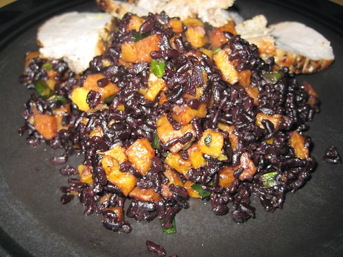 Black Rice w Sweet Potatoes