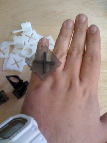 "plexi DIY ""snap out"" ring"