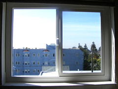 the new kitchen windows