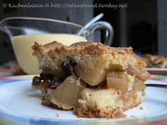 Apfelpasteten-Kuchen der russischen Großmutter 001