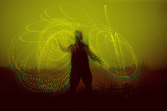 twirl guy (wizmo) Tags: lights twirling spirographs