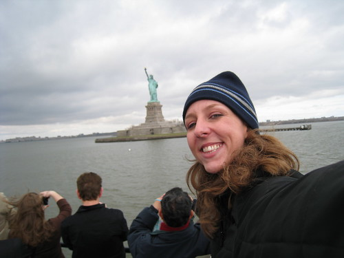 Me & the Statue of Liberty