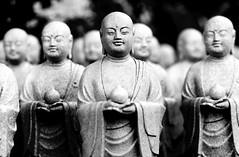 Bodhisattva Bokeh (vyxle) Tags: light shadow japan stone temple tokyo peace buddha buddhist kamakura explore serenity stillness jizo hasedera explore418 2008yip