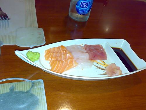 Barquita de pescado