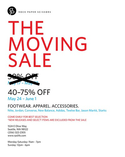 The Moving Sale - Phase 2