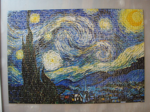 9th puzzle - Starry Night, 星夜 (300 pieces)