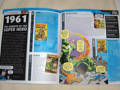 Marvel Chronicle interior spreads
