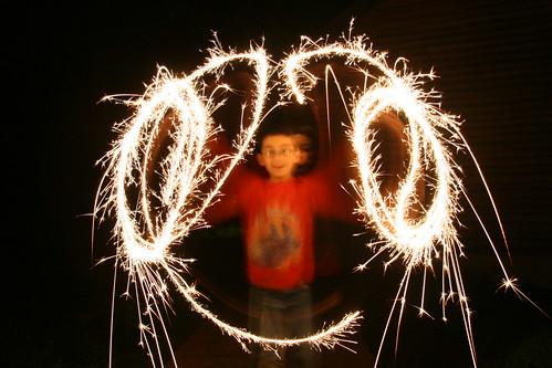 Adam sparklers circles