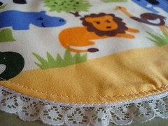 Animal n lace (O Sew Sweet by Keo) Tags: designer bibs