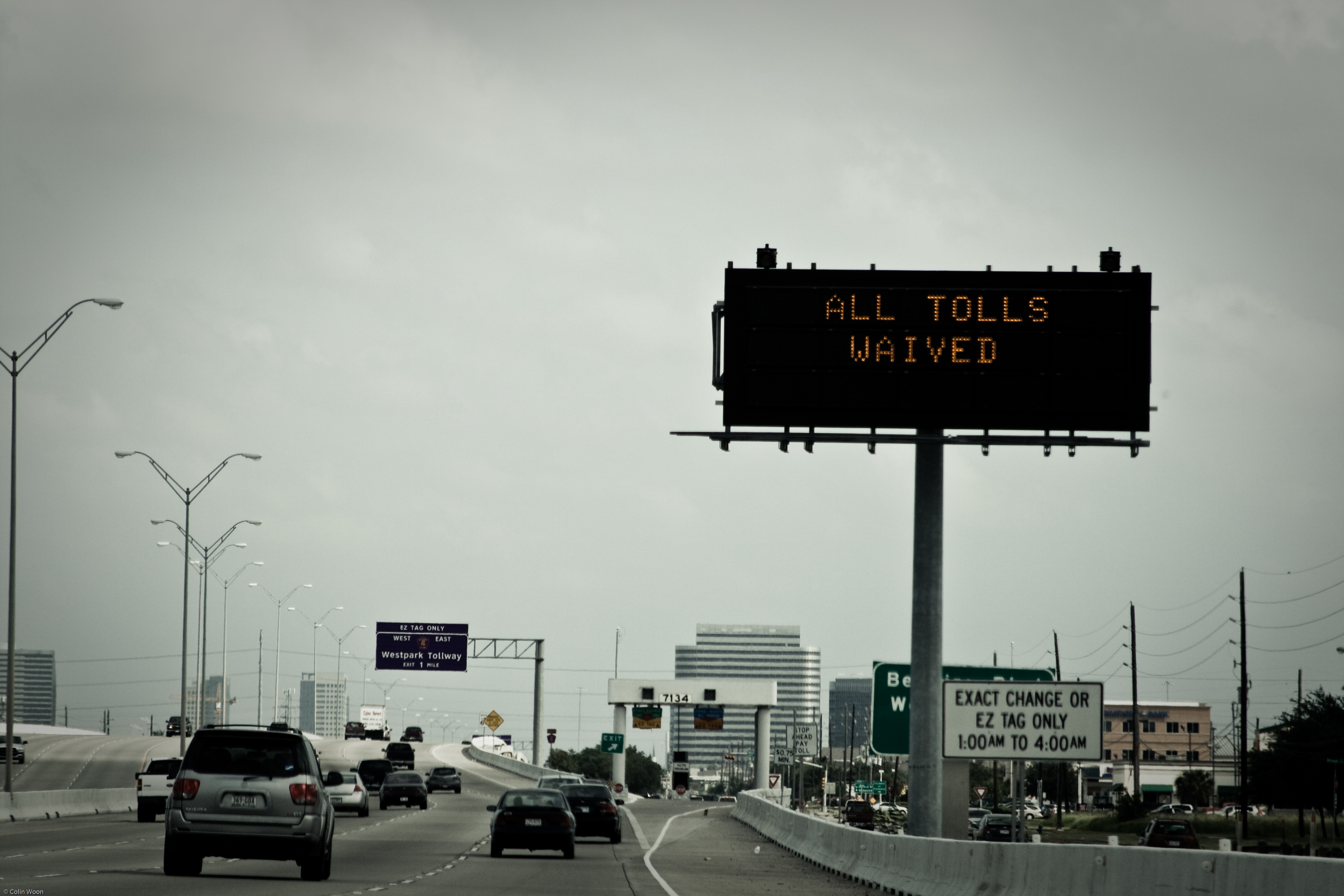 Toll Road Free!  Won't last!
