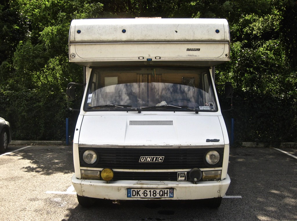 1981 IVECO UNIC Daily HK 35U8 Caravelair Rallye Motorhome ClassicsOnTheStreet Tags Dk618qh