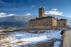 Sarre - Castello Reale /  Château Royal (bautisterias) Tags: aosta aoste valdaosta valledaosta valdaoste monterosa alps alpi alpes alpen italy italia italie snow winterlandscape winter d750 hiver inverno savoy savoia savoie royal reale royale