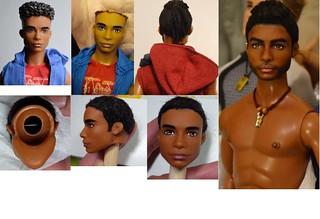 Kyrie- AA Hip Hoodie Ken (HYBRID) on a Texas A&M University Ken OOAK Repaint Customized Doll by DollAnatomy