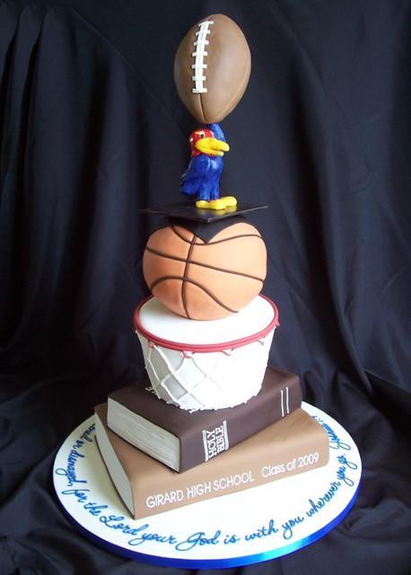 Darian's graduation cake