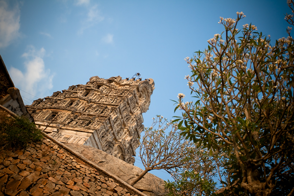 The temple tower - Melukote, Chitra Aiyer Photography