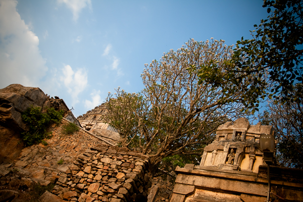 Temple tower peeks - Melukote, Chitra Aiyer Photography