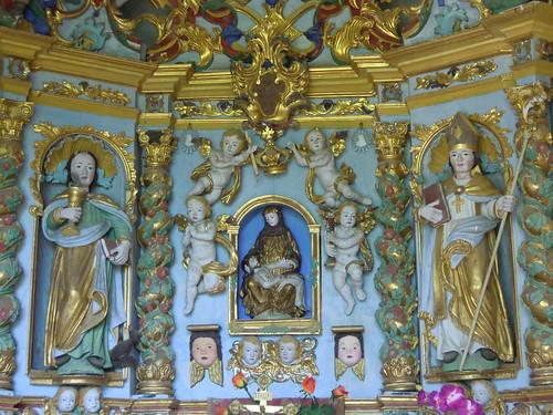Vallée de Peisey-Nancroix, sanctuaire ND des Vernettes, retable de l'oratoire © D. Dereani-Fondation Facim (14)