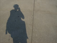 My Shadow (DeeJay Photography) Tags: school shadow college mi campus university michigan sunny sidewalk ypsilanti emu monday eastern univeristy